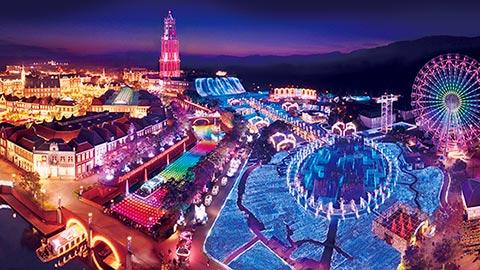 世界最大!ハウステンボス「光の王国」は圧巻のイルミネーション