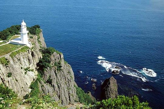 北海道室蘭市 地球岬(ちきゅうみさき)