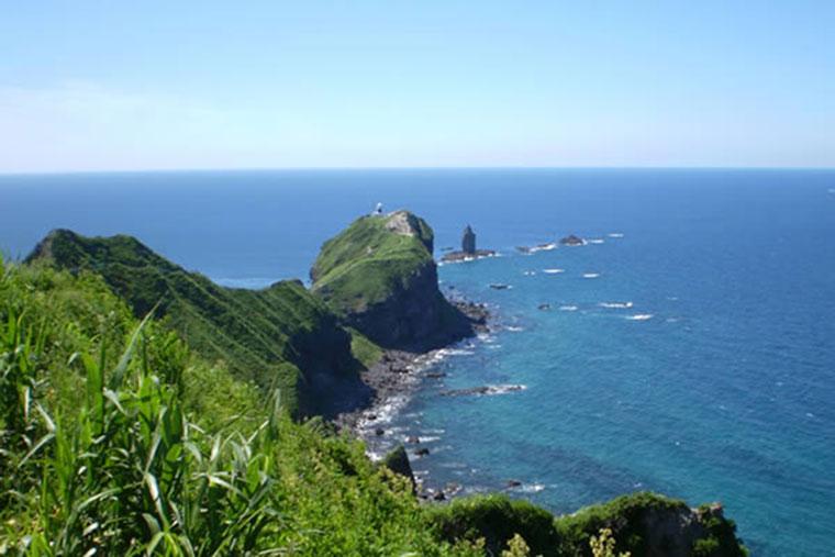 北海道 積丹町 神威岬(かむいみさき)