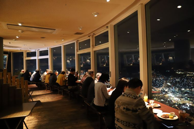 稲佐山山頂展望台 光のレストラン