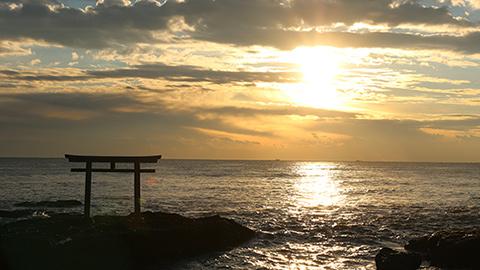 1度は見たい絶景!大洗磯前神社とオーシャンビュー風呂から眺める日の出