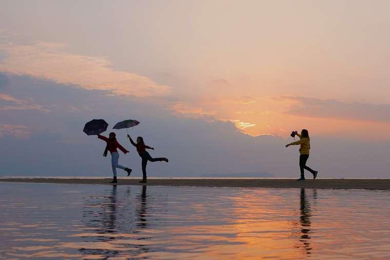 日本のウユニ塩湖「父母ケ浜(ちちぶがはま)」