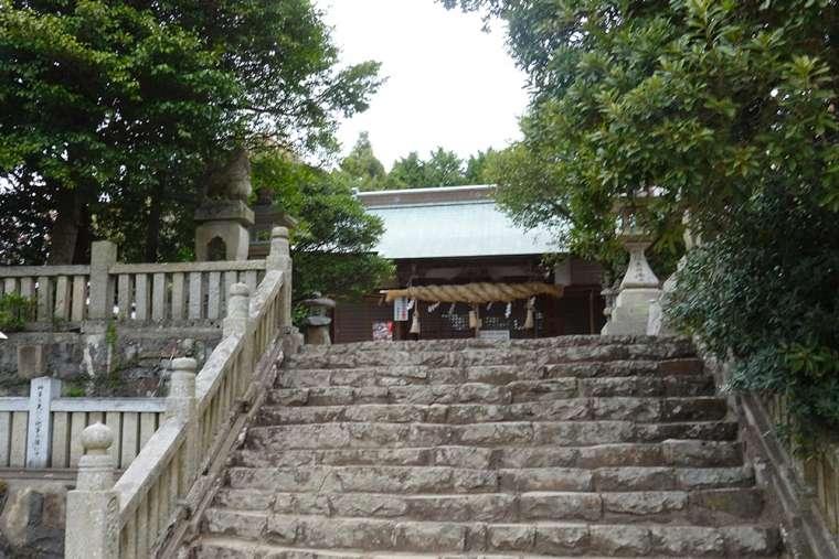 高屋神社 本殿