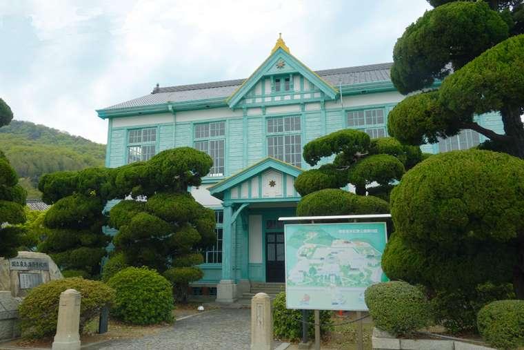 登録有形文化財「粟島海洋記念館」