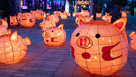2020年は台中で開催!台湾ランタンフェスティバル