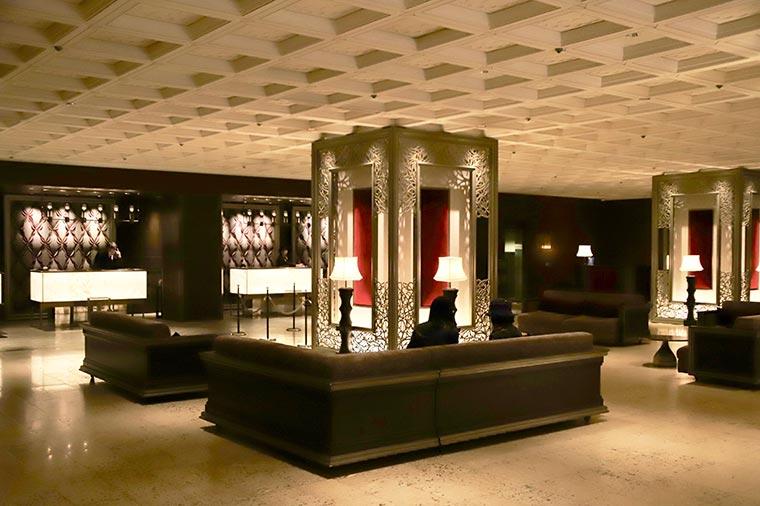 東京プリンスホテルのレセプション