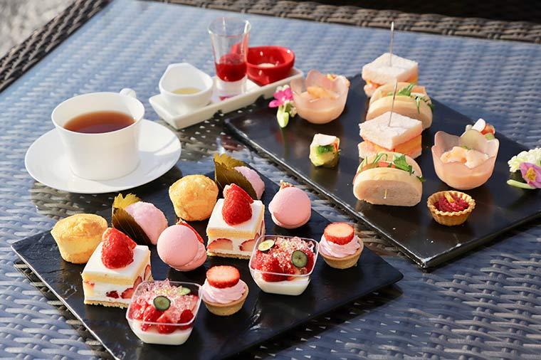 Sakura Afternoon tea Set