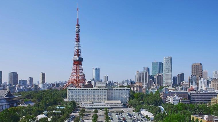 東京プリンスホテル 全景