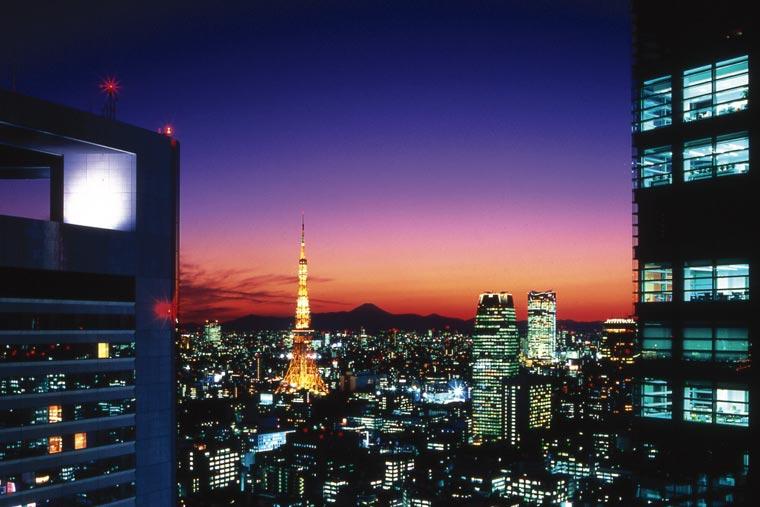ザ ロイヤルパークホテル 東京汐留  東京タワー側夜景