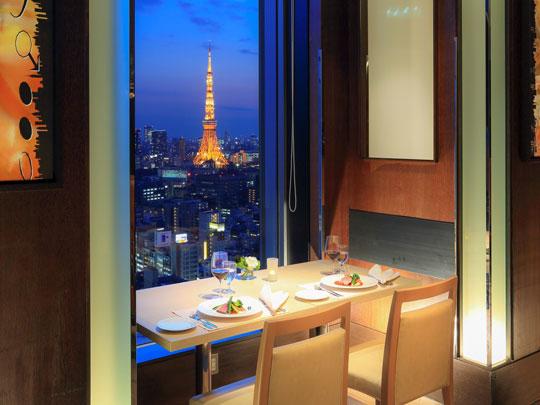 ザ ロイヤルパークホテル 東京汐留 レストラン ハーモニー
