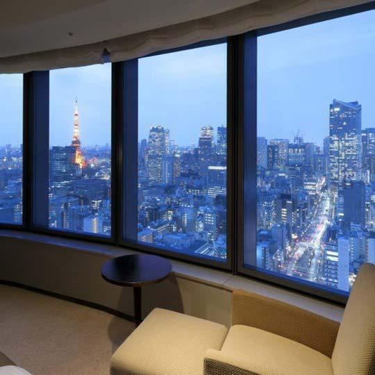 パークホテル東京 コーナーキングルーム
