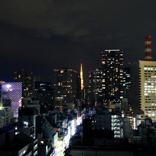 アパヴィラホテル赤坂見附 客室からの夜景