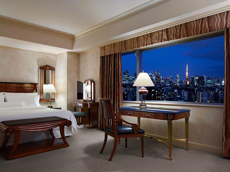 ウェスティンホテル東京 エグゼクティブキングルーム(角部屋)