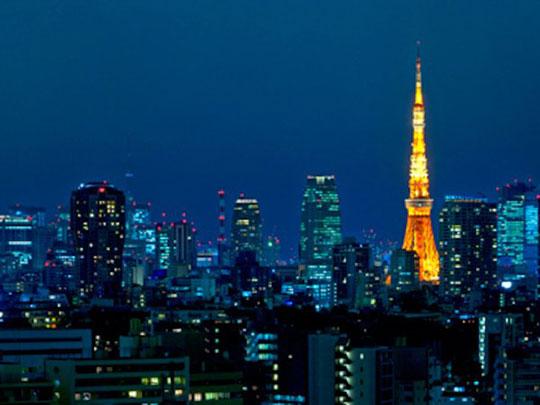 ウェスティンホテル東京 イーストビュールームからの眺望例