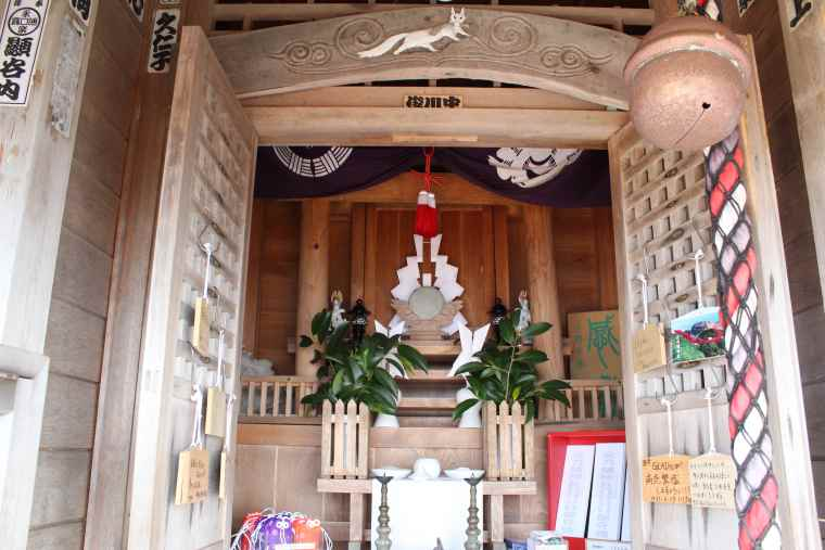 元乃隅神社の拝殿