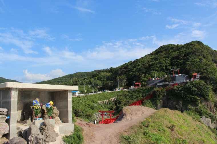 元乃隅神社のお地蔵さま