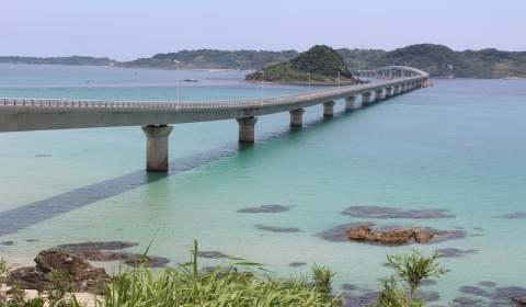 山口県の絶景・角島大橋と元乃隅神社を見に行こう!