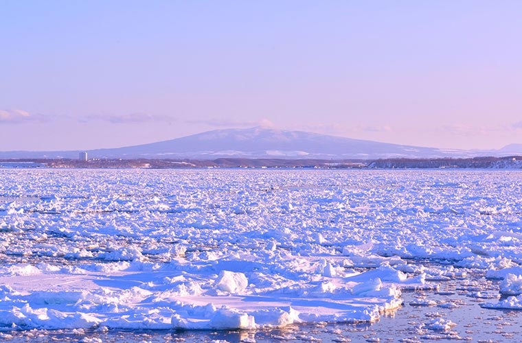 オホーツクの「流氷」