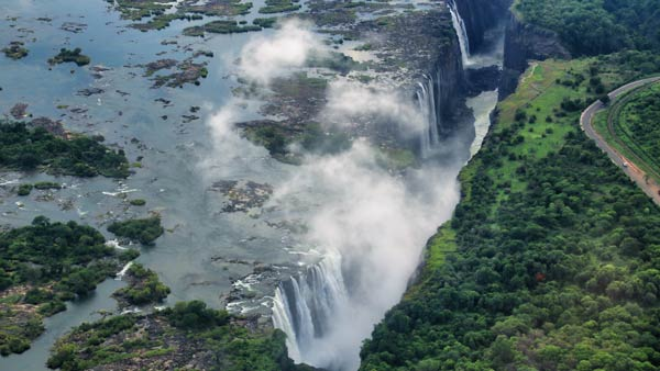 ヴィクトリアの滝
