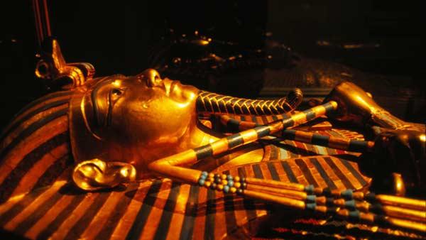 ツタンカーメン黄金のマスク