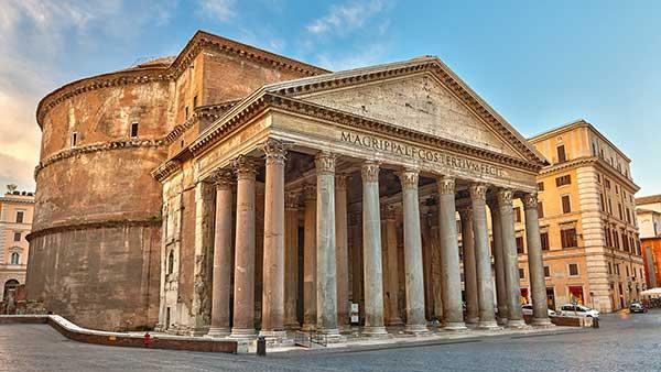 古代ローマの「パンテオン」