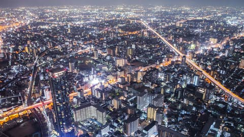 大阪・関西の夜景スポット15選!デート向けから工場夜景まで