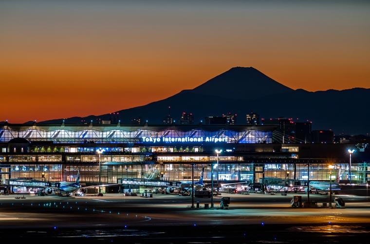 羽田空港第一ターミナル 展望デッキ