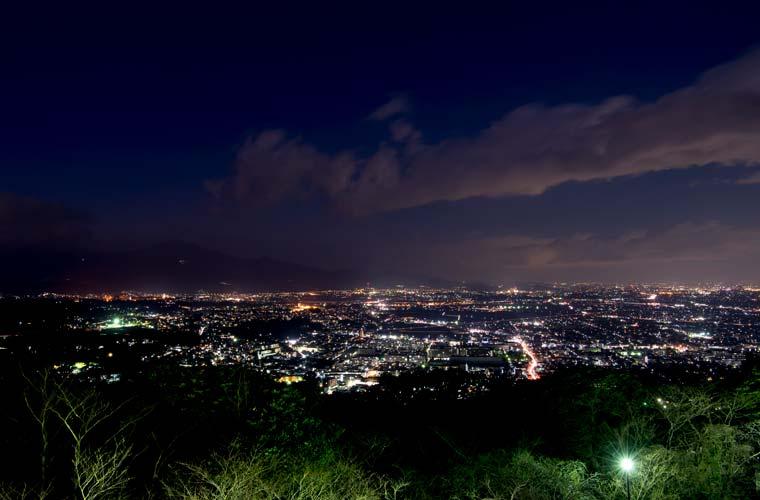 高麗山公園(湘南平)の夜景