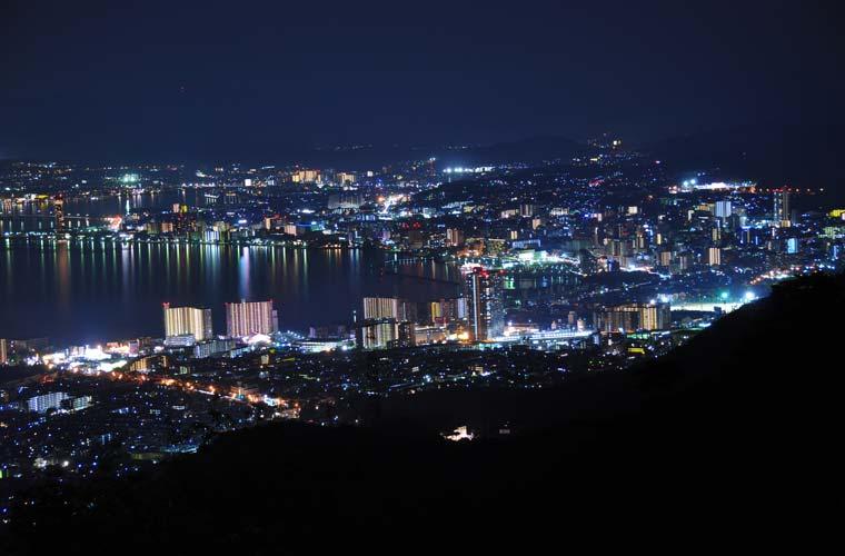 夢見が丘(比叡山ドライブウェイ)の夜景