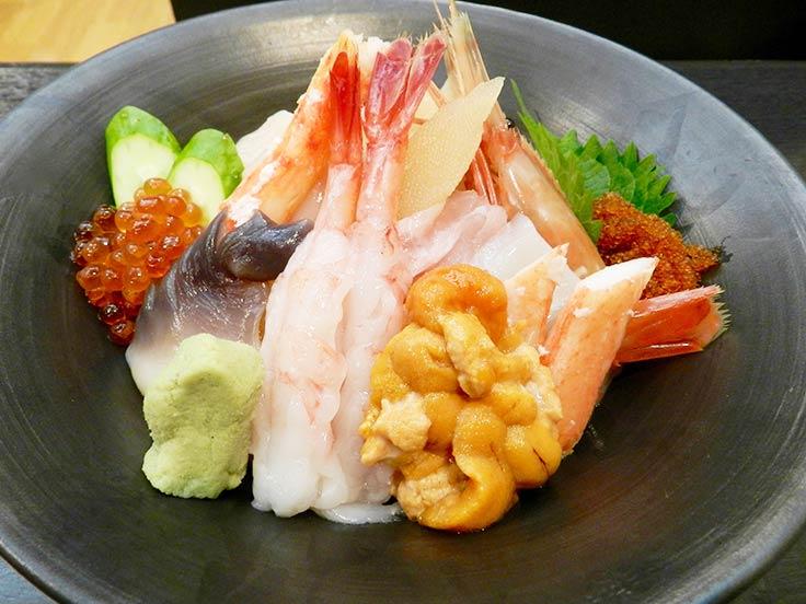 北海道 旭川 寿司・海鮮丼 「二幸本店」