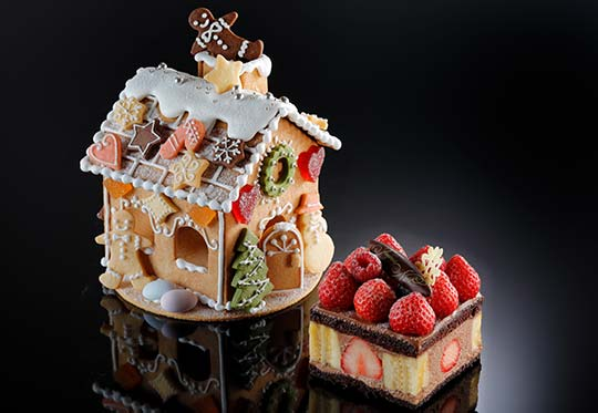 シェラトン都ホテル大阪 クリスマスケーキ