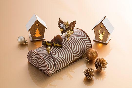 ホテル悠洛Mギャラリー クリスマスケーキ