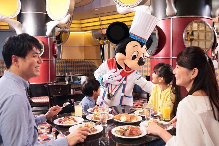 ディズニーアンバサダーホテル「カジュアル・ダイニング シェフ・ミッキー」
