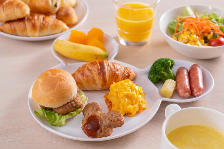 東京ディズニーセレブレーションホテル 朝食