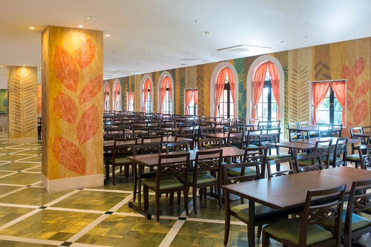東京ディズニーセレブレーションホテル「ディスカバー・カフェ」
