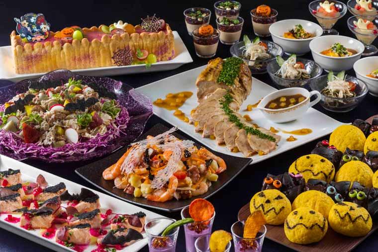 東京ディズニーランドホテル「ブッフェレストラン シャーウッドガーデン・レストラン」
