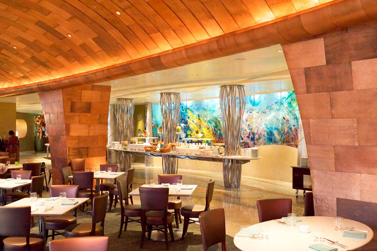 東京ディズニーシー・ホテルミラコスタ「地中海料理レストラン オチェーアノ」