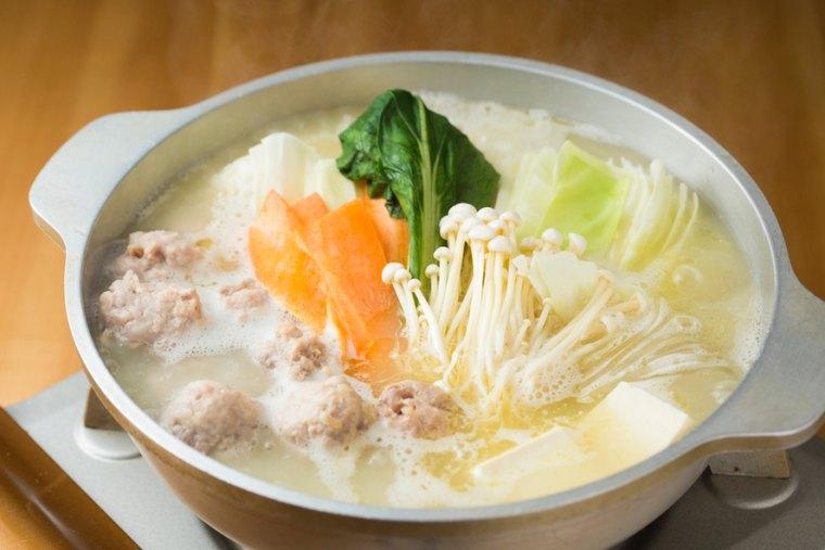 日本4大鶏鍋料理のひとつ「水炊き」