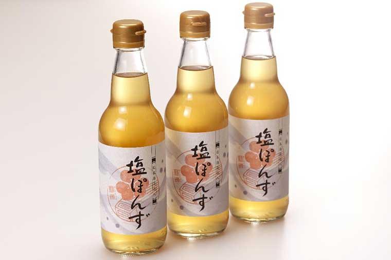 皆生温泉 皆生グランドホテル天水「日本海藻塩入 塩ぽんず」