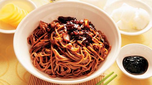 ジャージャー麺(仁川)