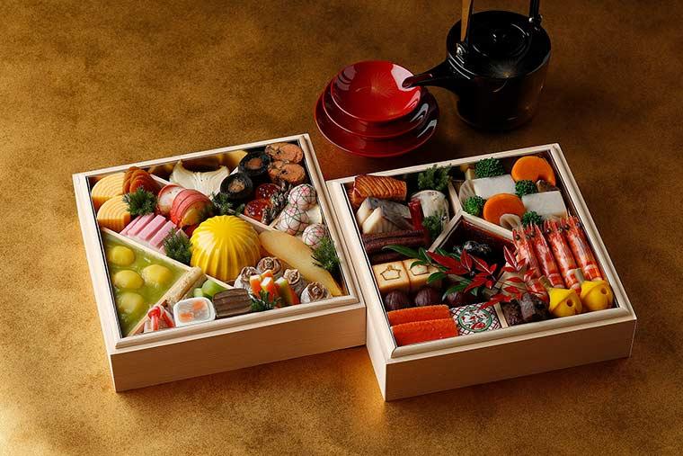 ホテル雅叙園東京 「日本料理『渡風亭』おせち」