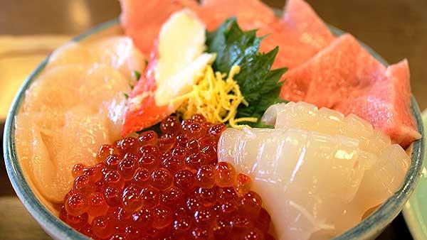 Bol de riz de fruits de mer « Kaisendon »