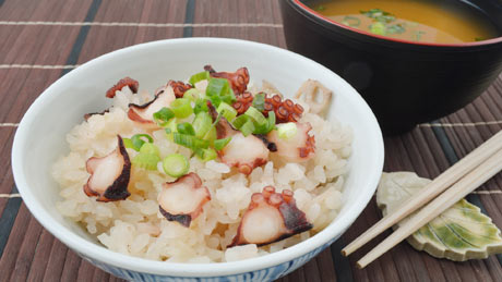 Takomeshi - Octopus Rice