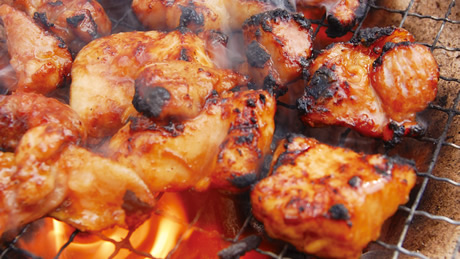 松阪鶏の焼き肉