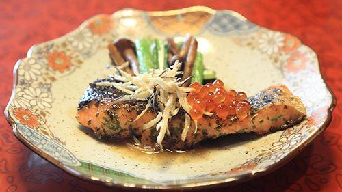 信州サーモン料理