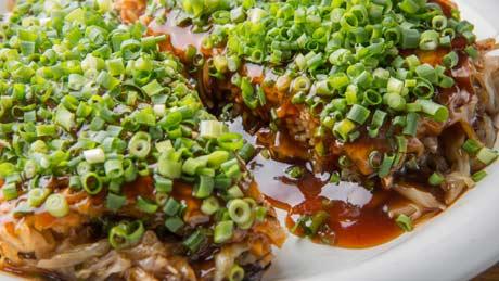 La crêpe de ciboule « negiyaki »