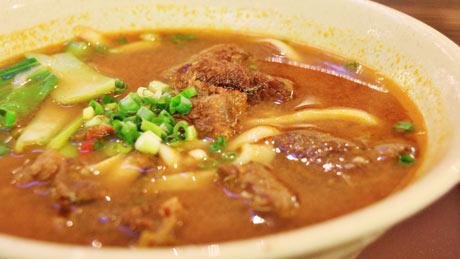 牛肉麺(ニョウローメン)