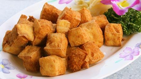 臭豆腐(チョートーフ)