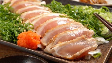 阿波尾鶏料理