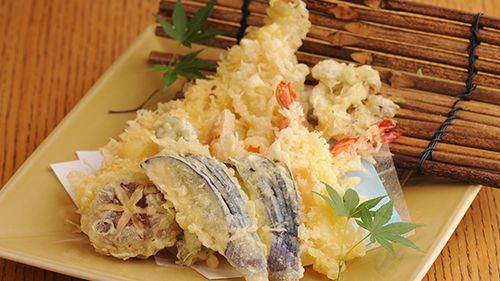 Tempura (Battered and Deep-Fried Seafood and Vegetables)